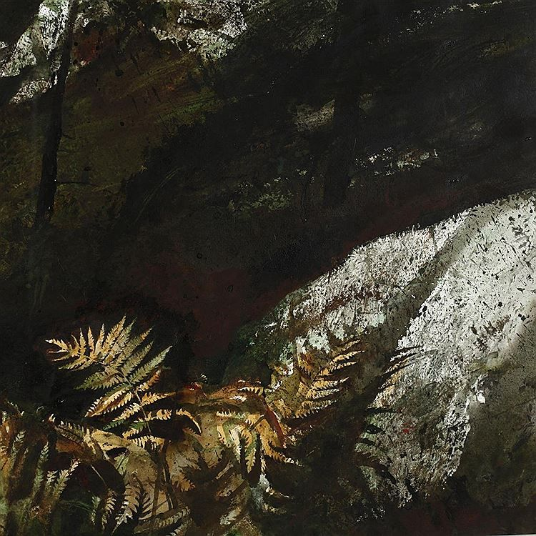 Andrew newell wyeth auction lot details artist auction