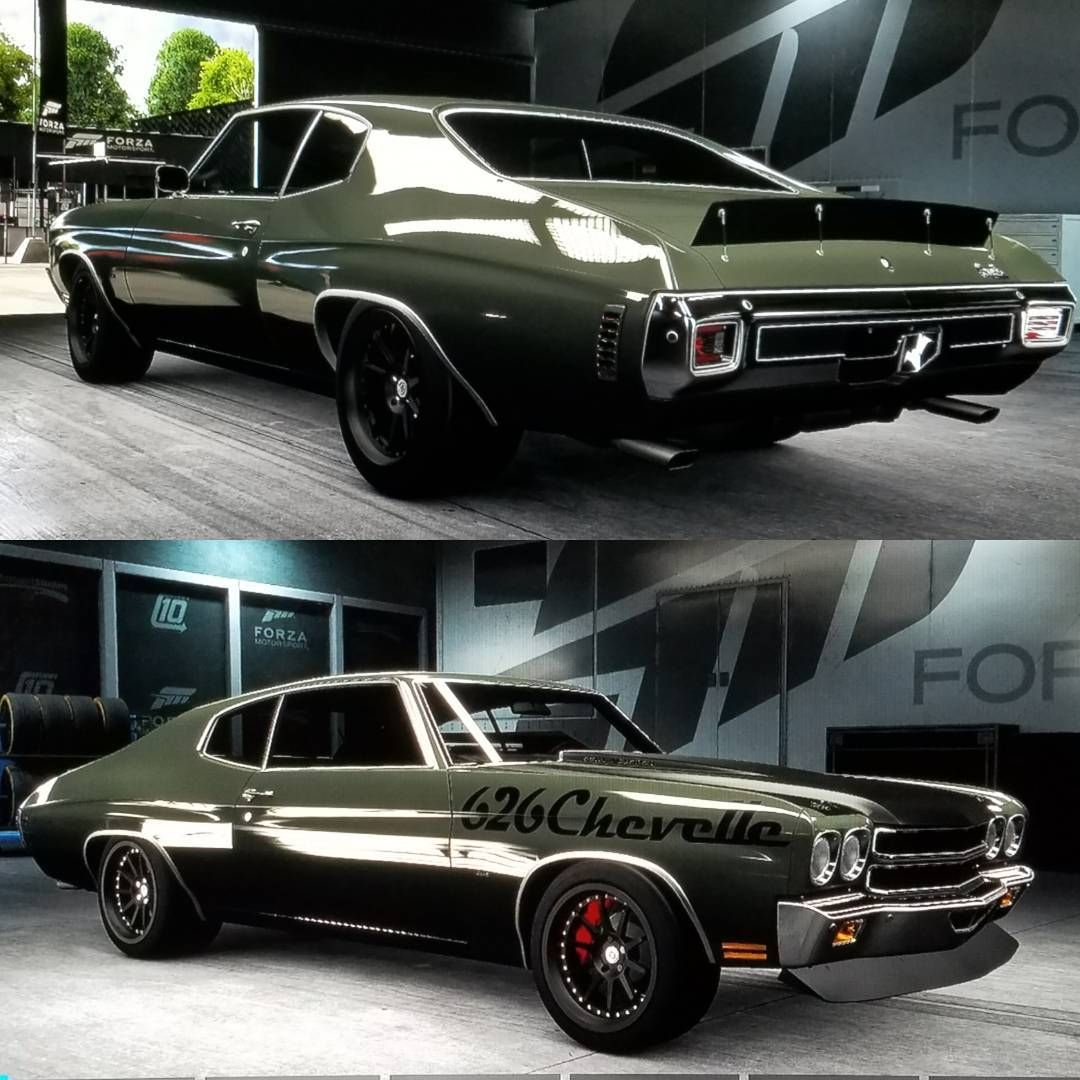70 chevelle #BecauseSS (Forza 6) using muscle cars front and rear ...