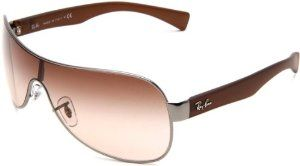 256007f604a Ray-Ban RB3471 Shield Sunglasses 132 mm