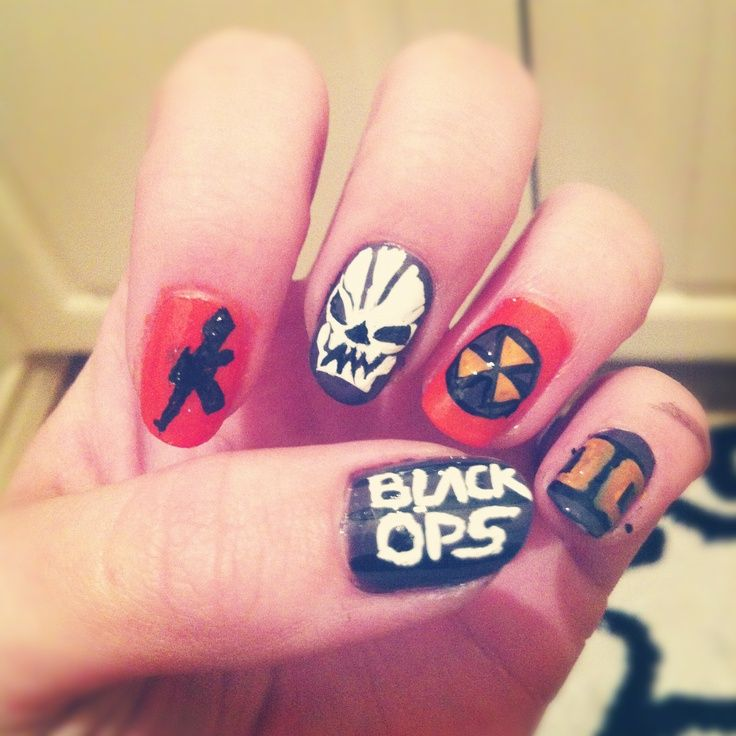 gamer nails | Gamer Nails | Pinterest | Makeup
