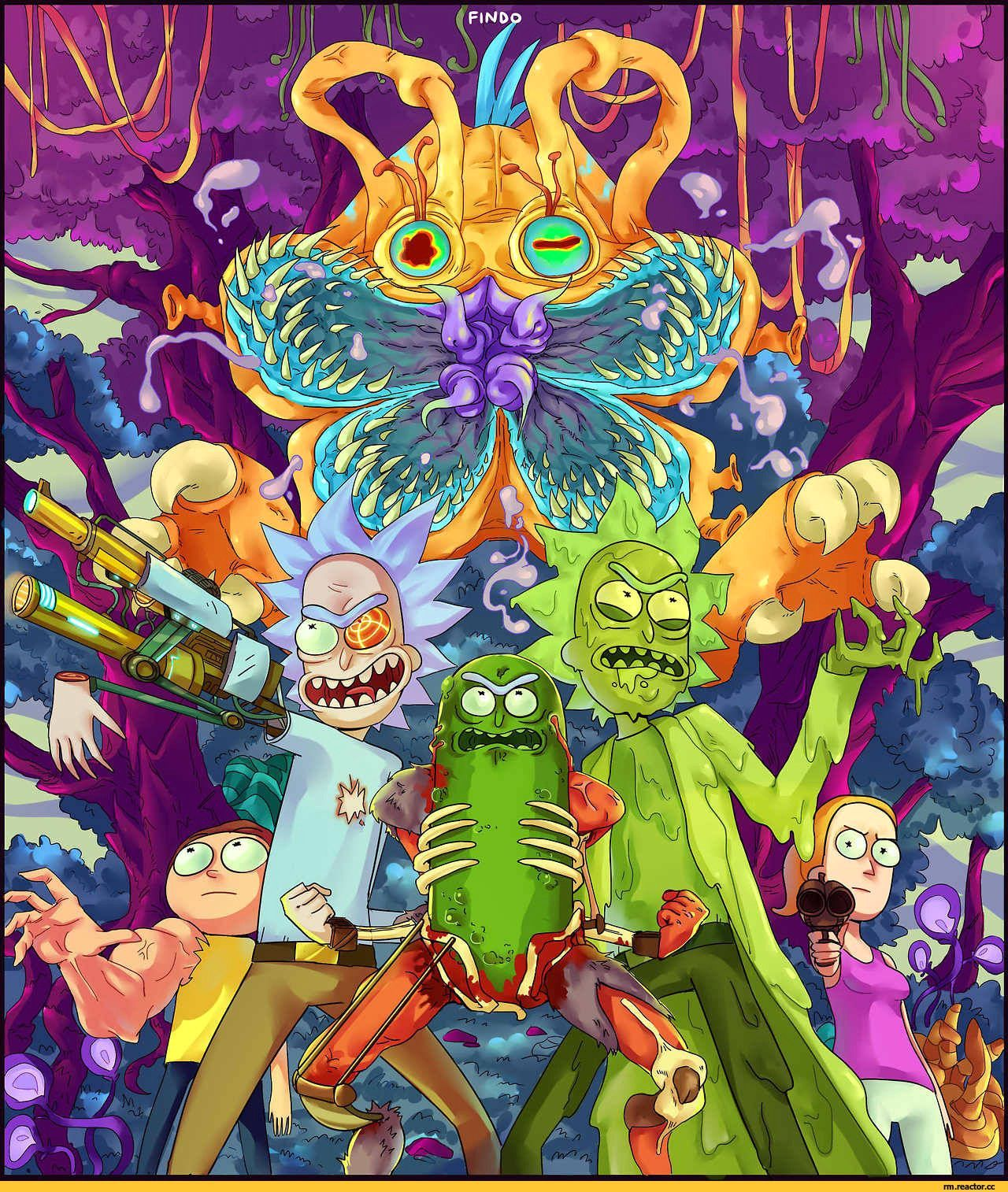 Rick And Morty Wallpaper Beautiful Marijuanaking King Slime Green In 2020 Rick And Morty Poster Cartoon Wallpaper Rick And Morty Drawing