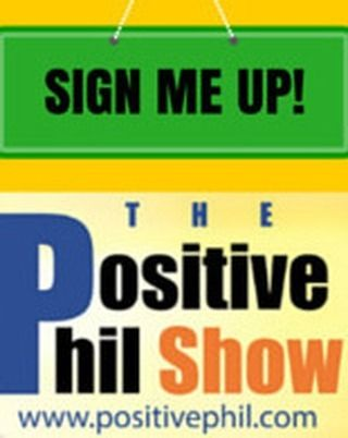 join thousand of individuals and hear encouraging stories...positive people...positive companies.. www.positivephil.com