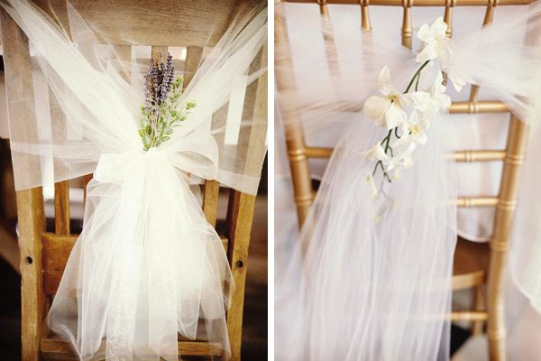 Ideas para decorar las sillas de la boda sillas de la for Sillas para bodas