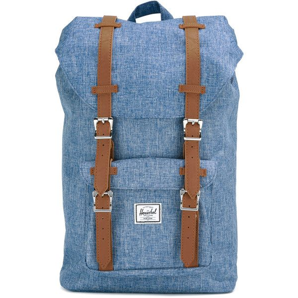 b6b7ca207ab Herschel Supply Co. buckle strap backpack ( 78) ❤ liked on Polyvore  featuring bags