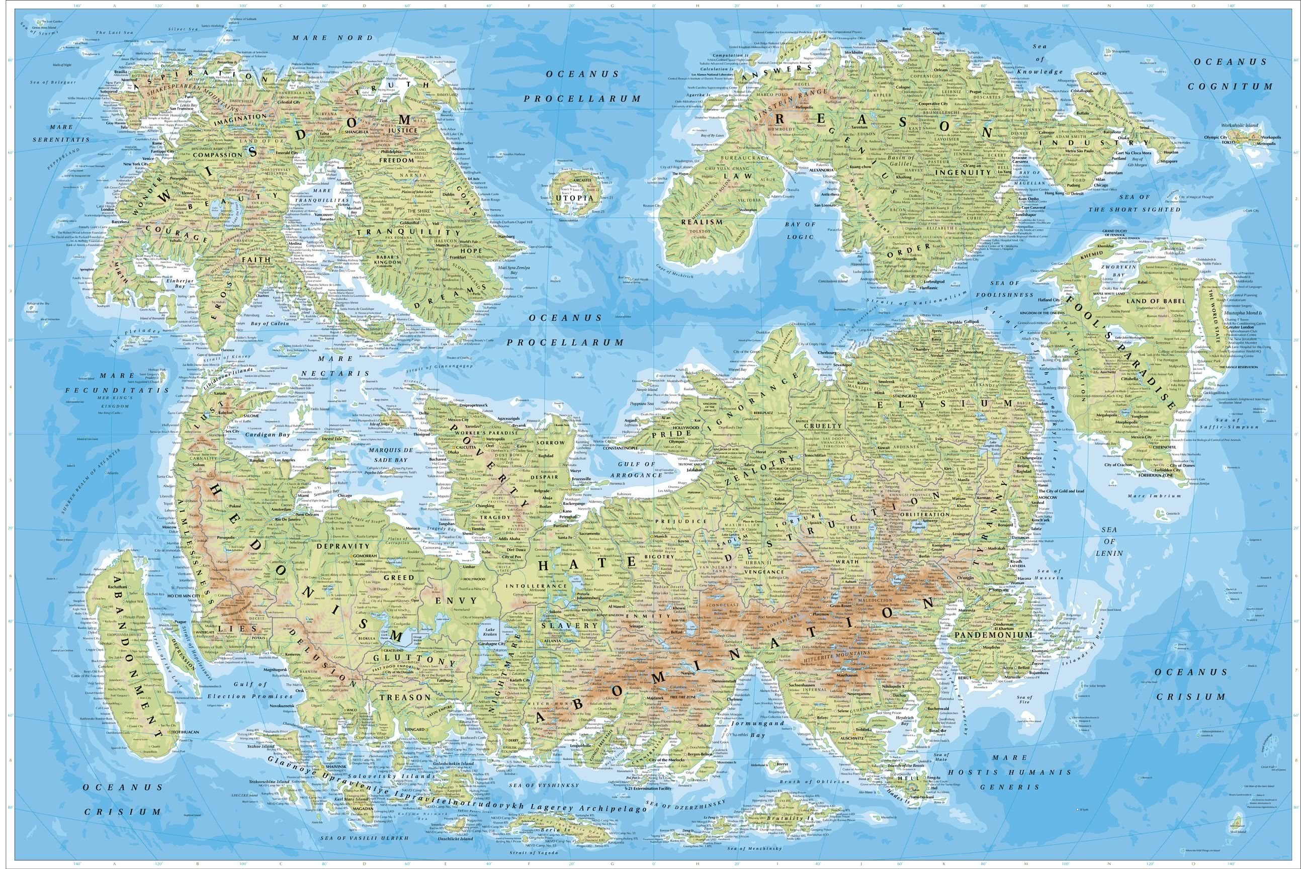 fiction world maps fiction free printable images world maps