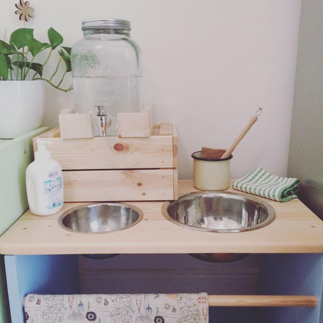 Montessori Einrichtung für Kinder Badezimmer und Küche Routine #whatkindofdog