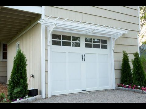 How To Build A Garage Pergola This Old House Garage Pergola Building A Garage Building A Pergola