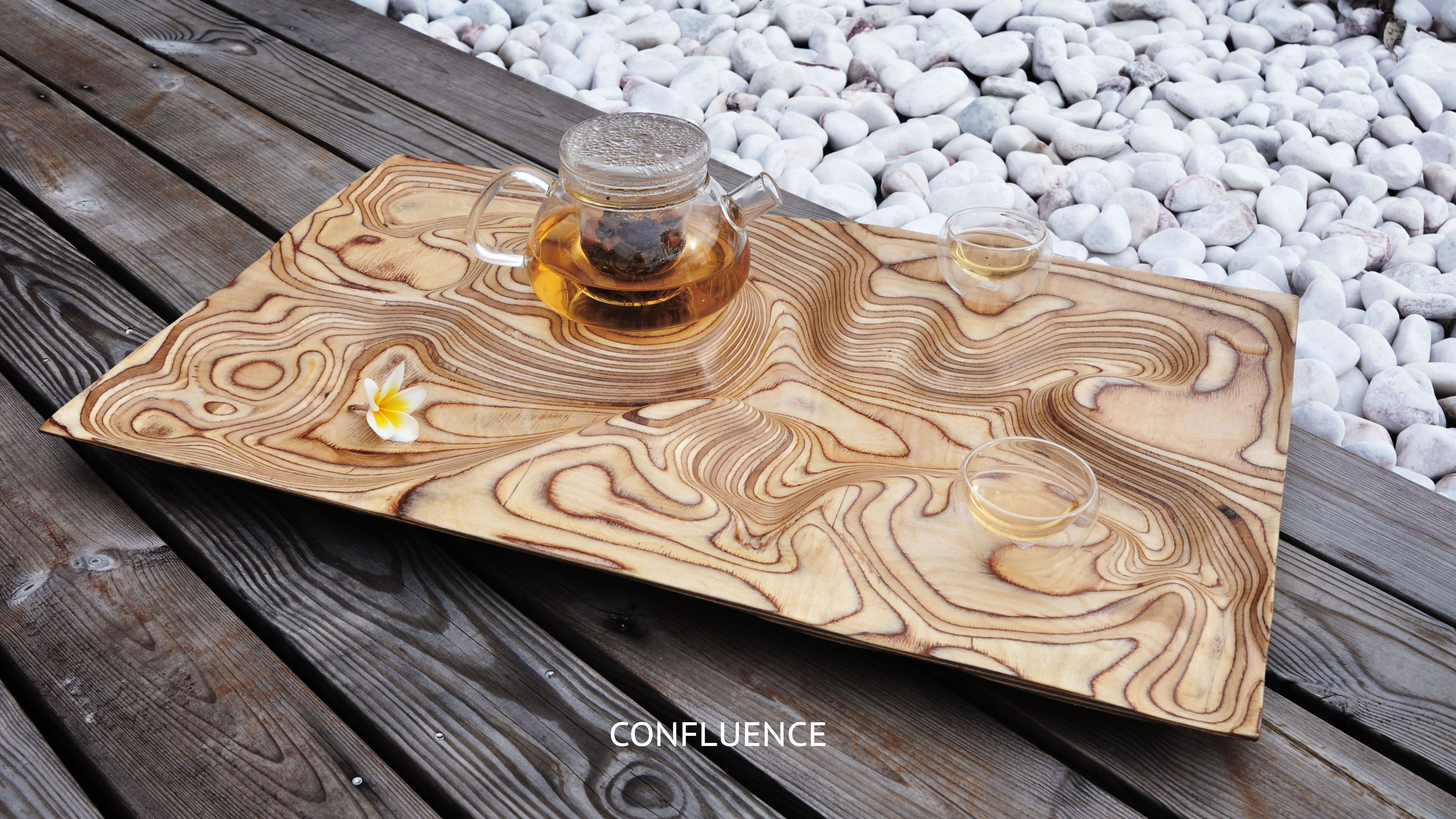 Confluence: Birch Plywood Tea Tray / Artonomos