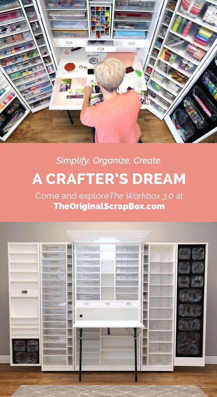The WorkBox 3.0 #craftroomideas