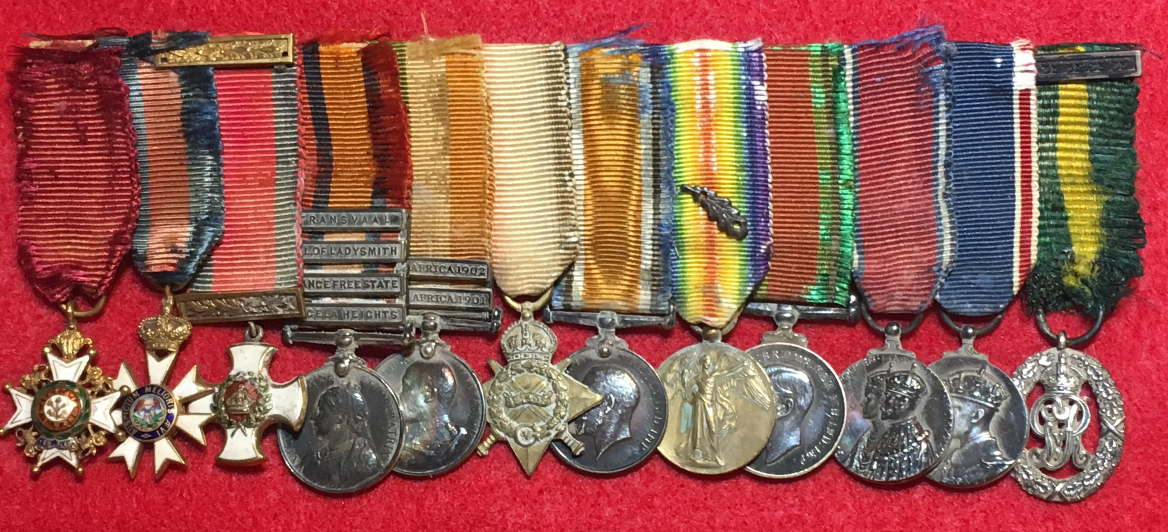 Details about Original World War 1 WW1 WWI UK British Miniature