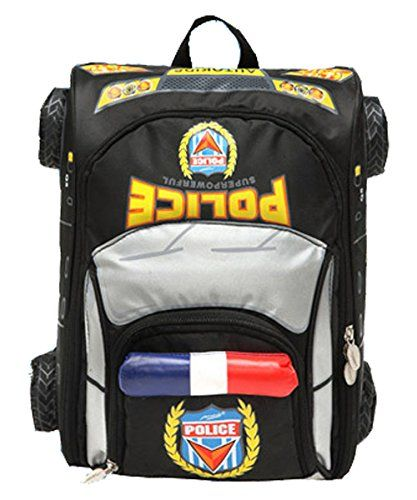 Yonger Police Car Style Baby Boys Book Bags Schoolbag Backpack For Kids Read More
