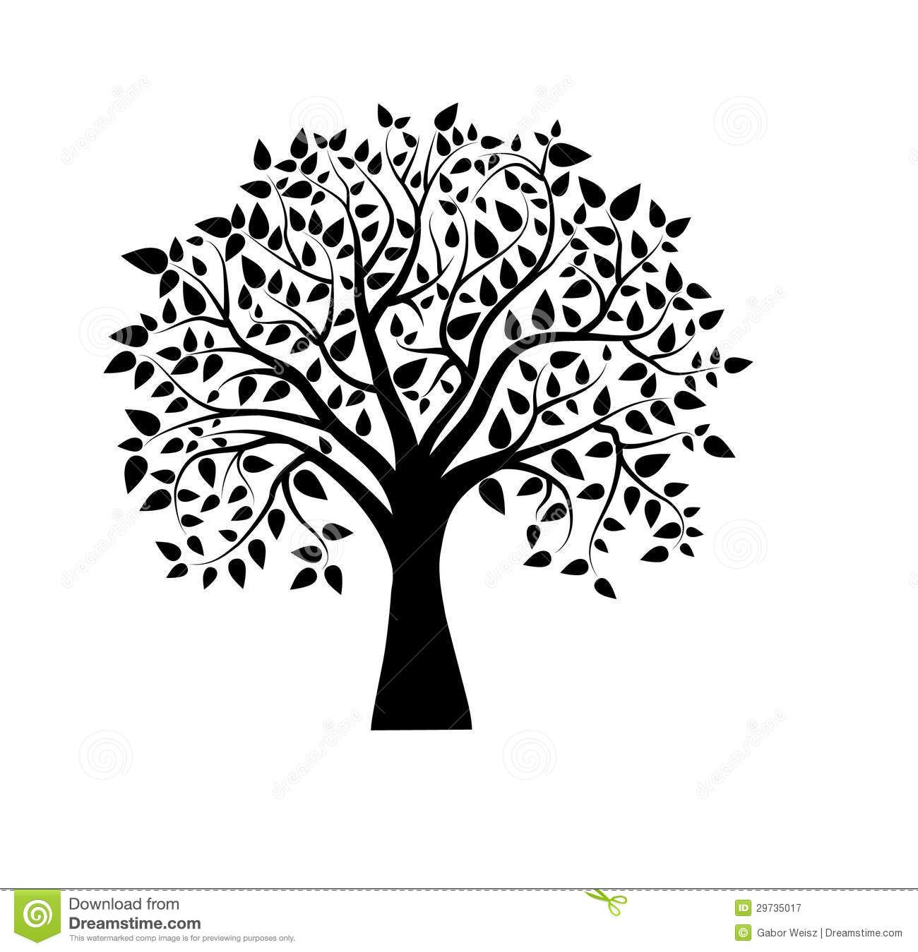 Arvore Desenho Preto E Branco Pesquisa Do Google Cool Tree
