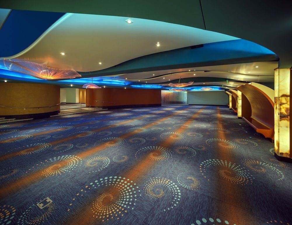 Custom Milliken Floor Covering Is Now Featured In The Ballroom At