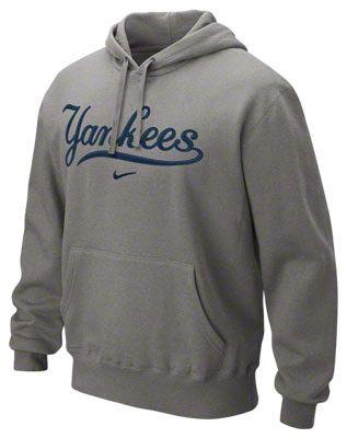 online store 1faa0 40d1b New York Yankees Heather Grey Nike Hoodie | i ♡ THE YANKEES ...