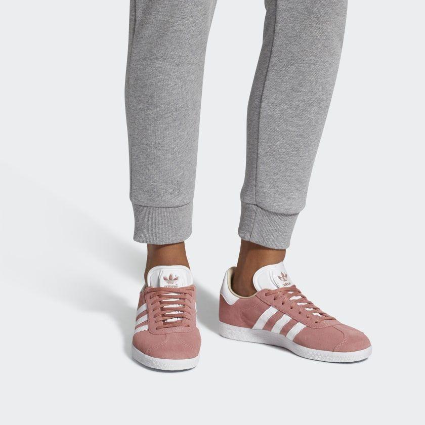 Impermeable Odio Antecedente  Gazelle Shoes Ash Pink / Cloud White / Linen CQ2186 | Adidas gazelle, Adidas  sneakers, Adidas