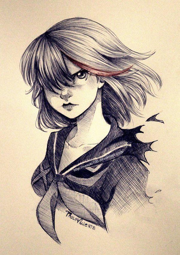Ryuko Matoi Ballpoint Pen By Nasuki100 On Deviantart Anime