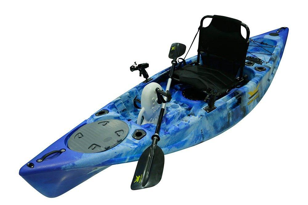 Pedal Power Fishing Kayaks Camo Blue Pedal Kayak Pedal Fishing Kayak Fishing Kayaks For Sale