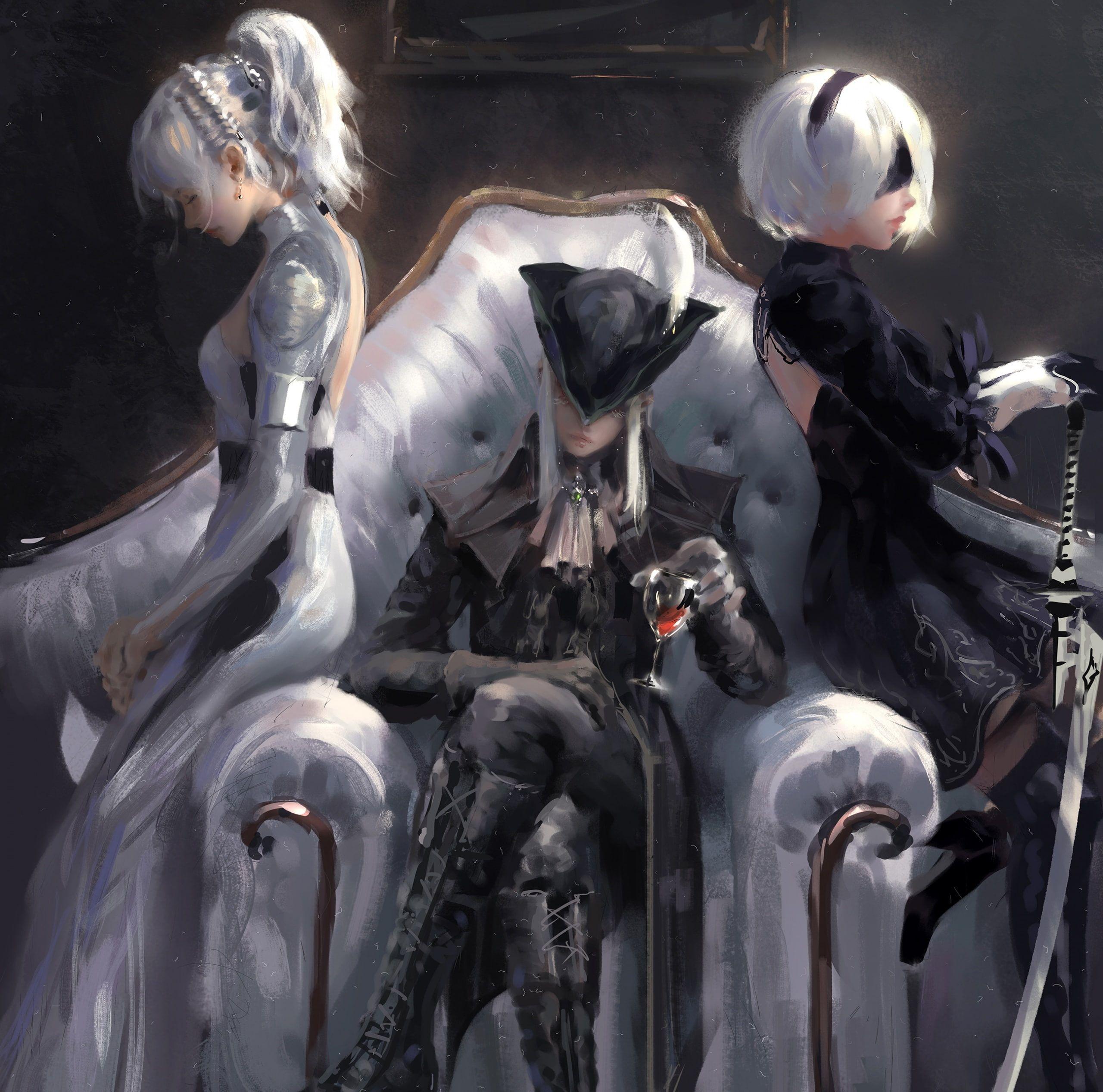 Lunafreya Final Fantasy Xv Lady Maria Games Other Games