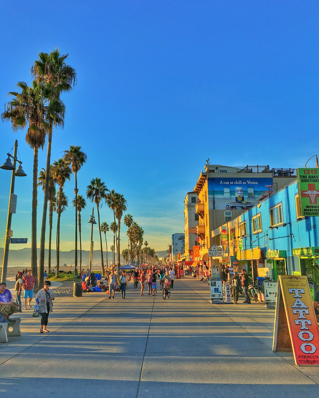 Venise Ca Californie Venice Beach Pacific Coast Pacific Etsy In 2020 Venice Beach California California Travel California Photography