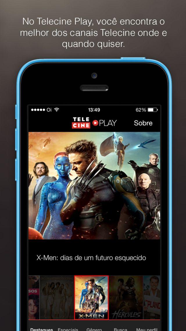 Telecine Play Filmes Online Apps Android Gratis Pinterest