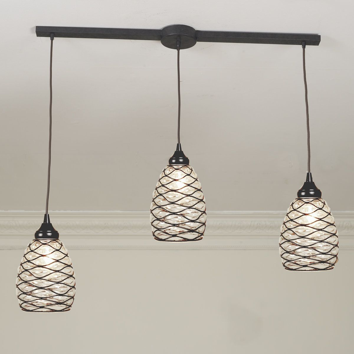 Cluster Pendant Adapters 3 Light Bar In 2021 Bar Lighting Glass Pendant Light Rustic Pendant Lighting