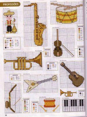 290c0ea55336 Algunos instrumentos musicales en Punto X | AMOR Y LABOR | Punto de ...