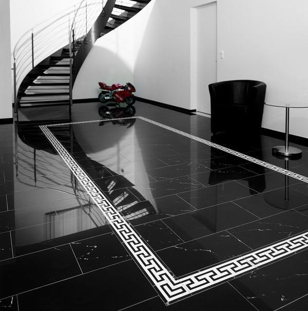 als natürlicher boden- oder wandbelag fügen sich marmor fliesen ... - Luxus Fliesen Am Haus