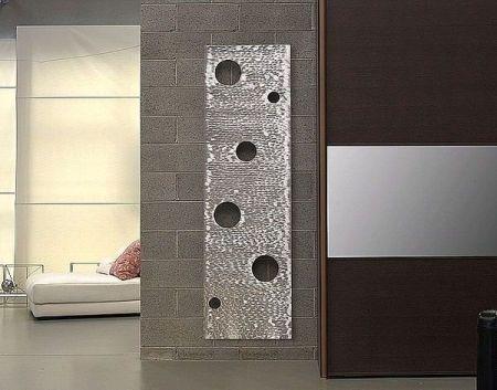 Design Heizkörper vertikal für Wohnraum, Wohnzimmer, Küche
