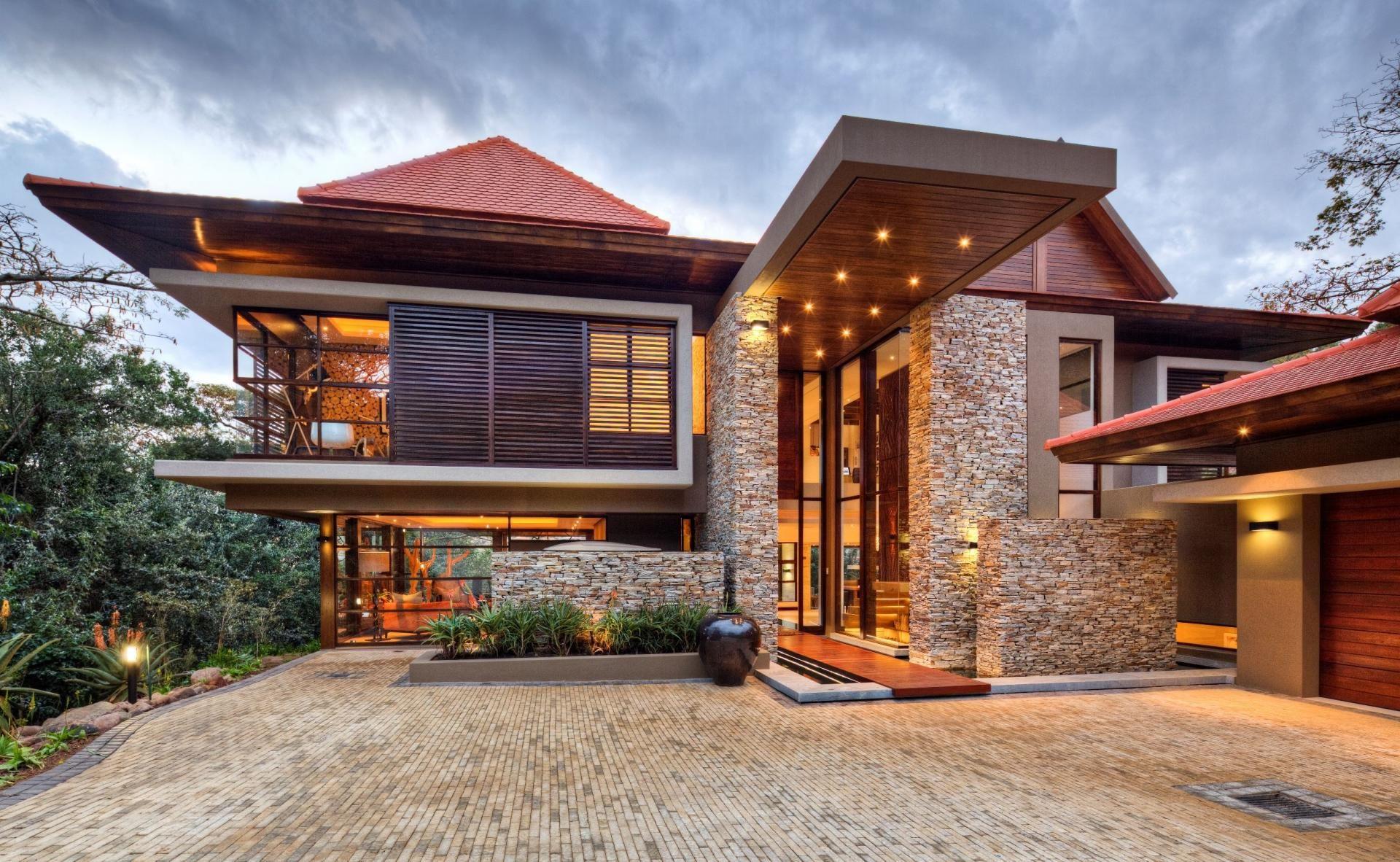American modern house designs