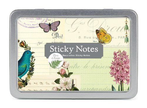 Cavallini Sticky Notes Flora & Fauna Cavallini & Co. https://www.amazon.com/dp/1574899147/ref=cm_sw_r_pi_dp_x_21uZybRYT2BPX