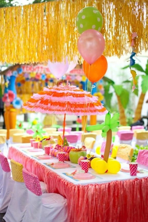 Pretty Table Decorations wonderful table decorations for the children's birthday! | decor10