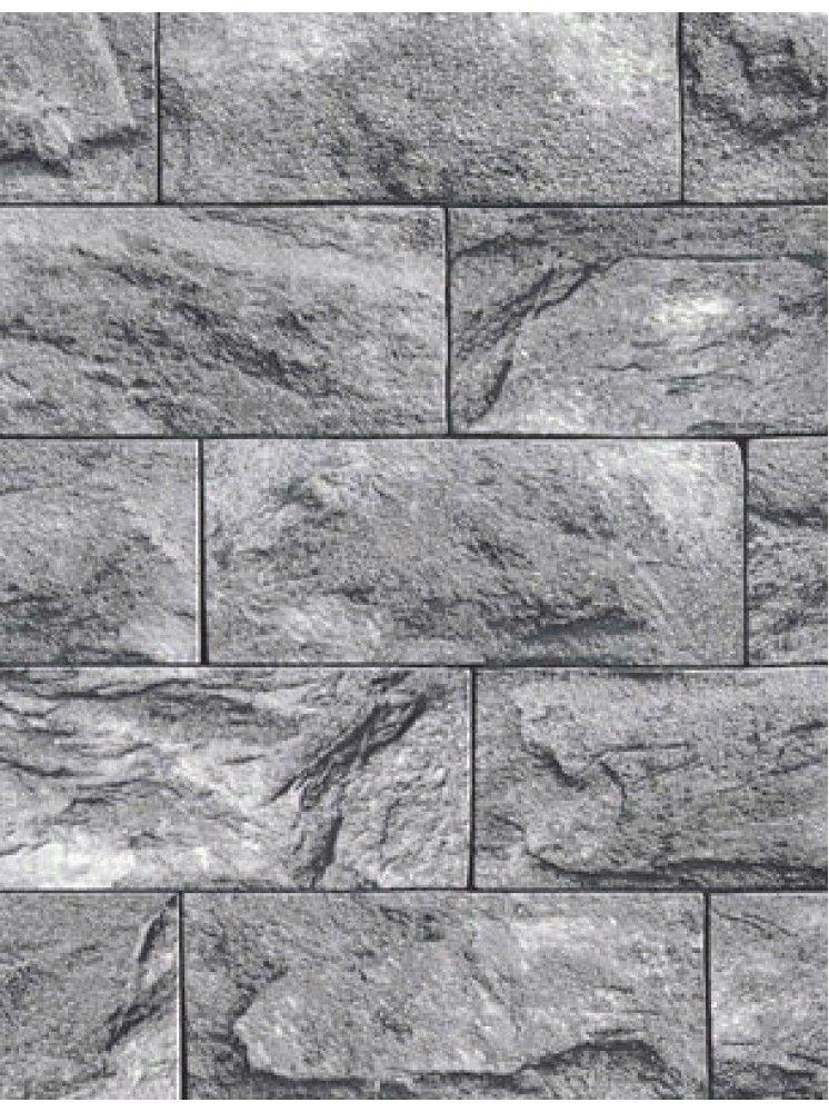 Grey Tiles Wallpaper in 2020 Tile wallpaper, Brick
