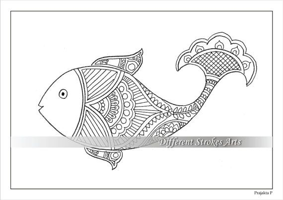 photograph relating to Printable Fish Colouring Pages identify Fish colouring internet pages. Grownup colouring internet pages. Complex