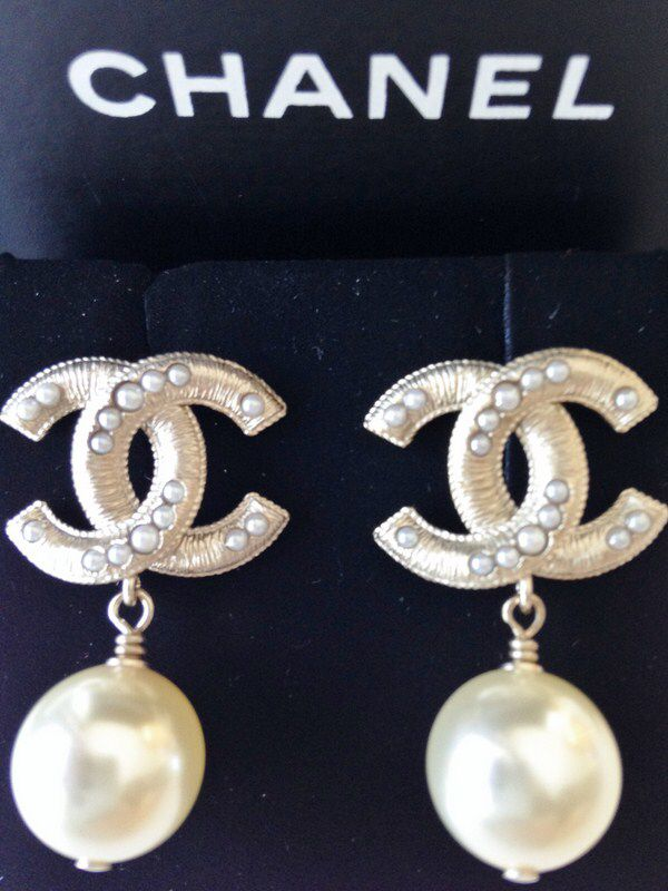 chanel earrings price. chanel 2016 spring pearl earrings price
