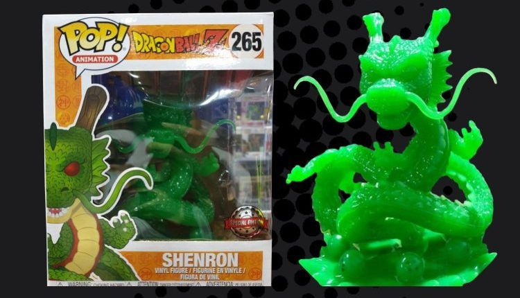Dragon Ball Z Jade Shenron Exclusive 6 Inch Pop Figure By Funko Is Back Pop Figures Funko Shenron
