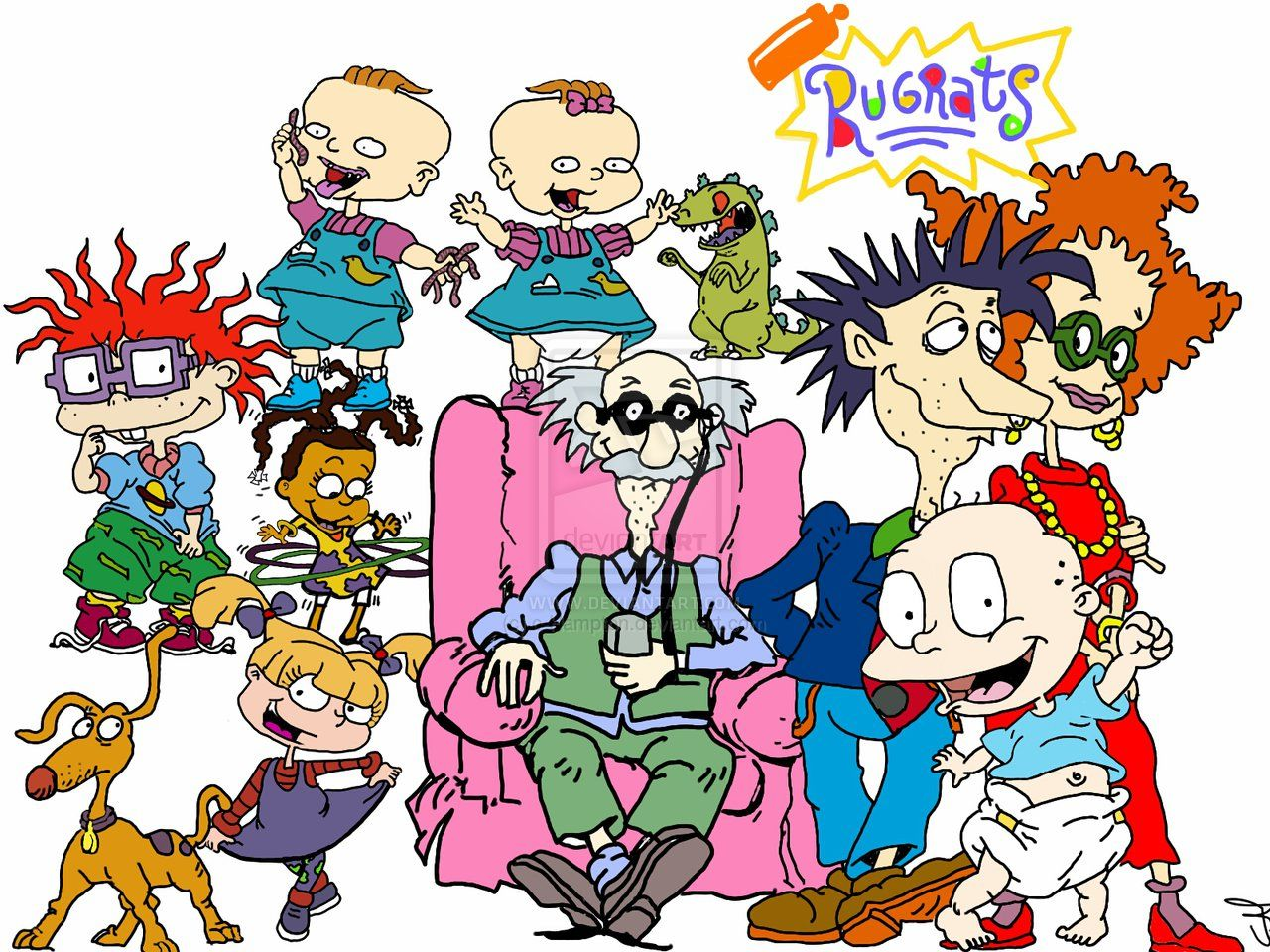 Rugrat Cartoon Clip Art