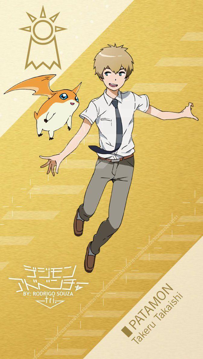 Takeru Takaishi Tk Patamon Digimon Adventure Digimon