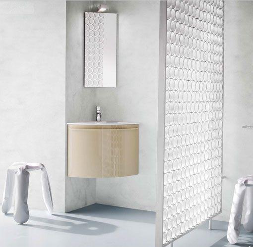 Lavabo y mueble en esquina para baños pequeños baños Pinterest - muebles para baos pequeos