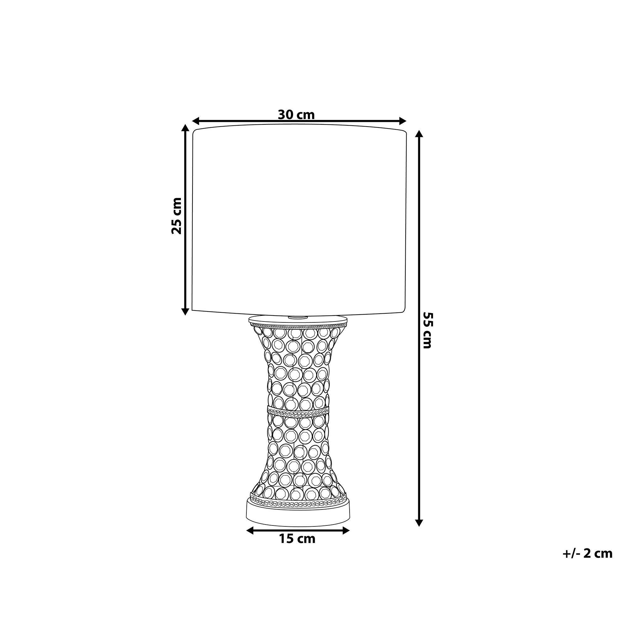 Tischlampe Silber 55 Cm Liffey In 2020 Tischlampen Lampen Silber