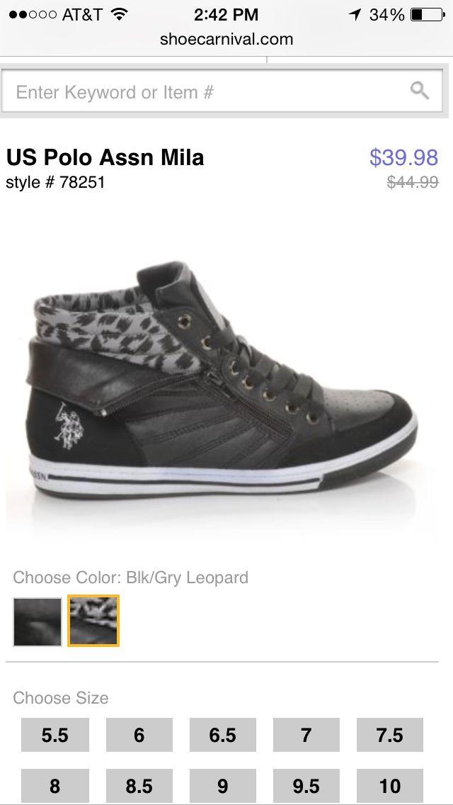 b822f97c497 Us polo assn Mila. Shoe carnival. | If I had style | Shoes, Shoe ...