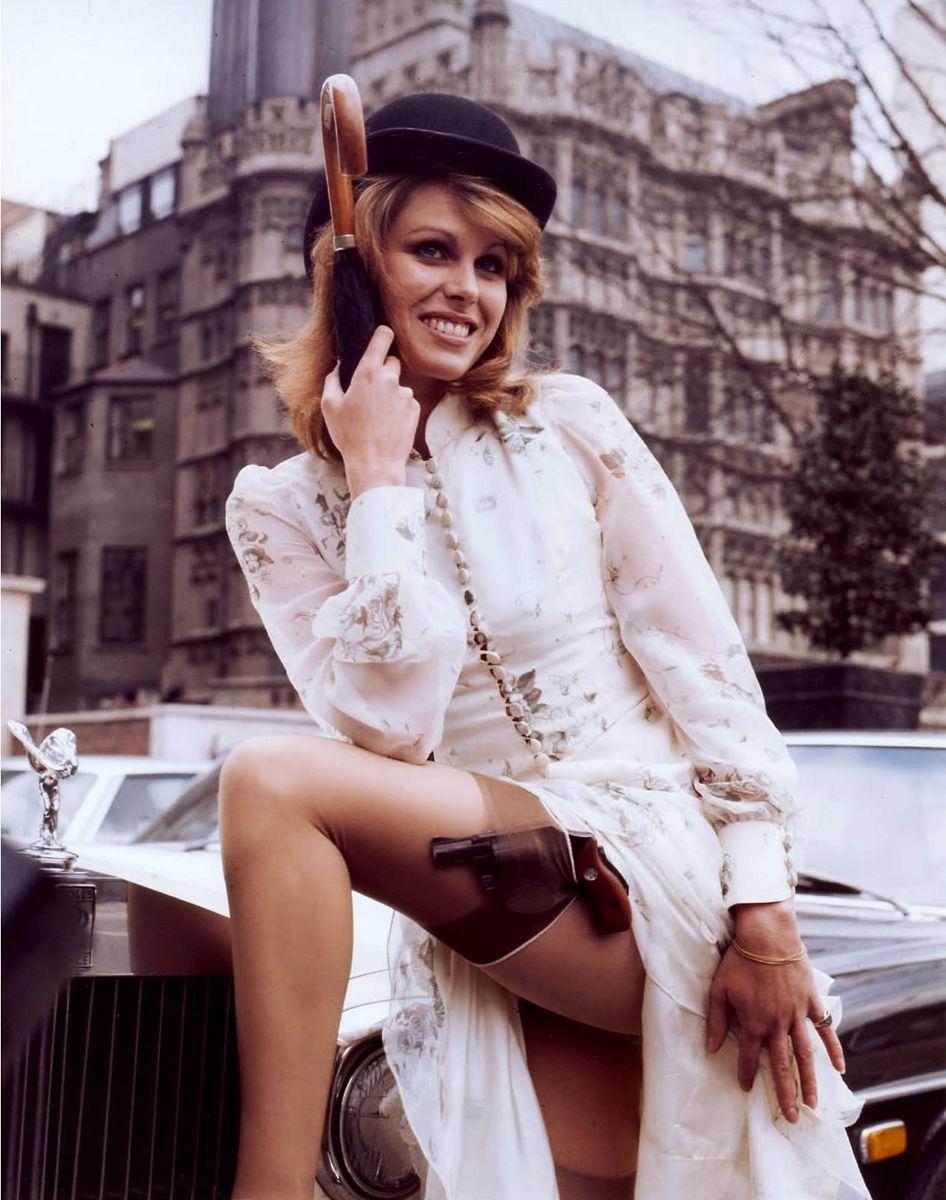 Joanna Lumley; photo by Brian Duffy. Joanna lumley young