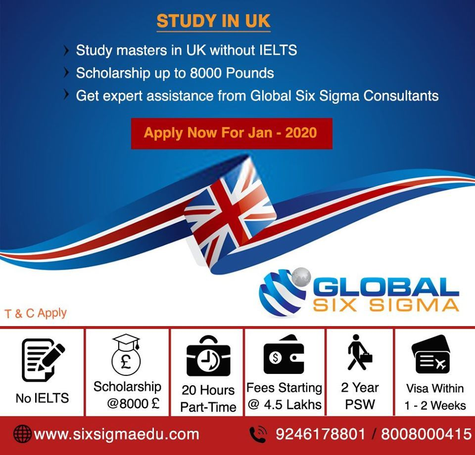 Top Uk Education Consultants In Hyderabad Global Six Sigma Uk Education Educational Consultant British Education