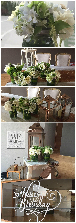 Hermosos estilos vintage para decoración con Bouquets. WEPlanners