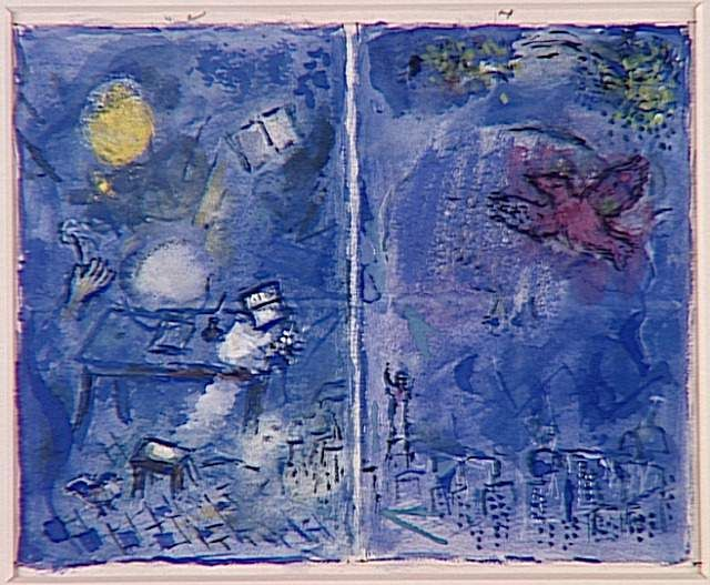Vitrage At Art Institute Of Chicago By Artistchagall