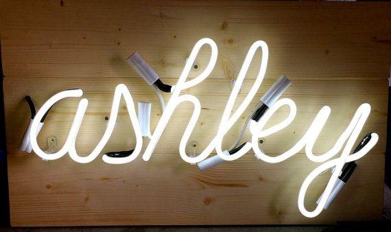 Personalised Handwriting Neon Light Sign Neonlicht Zeichen Und Beleuchtete Buchstaben