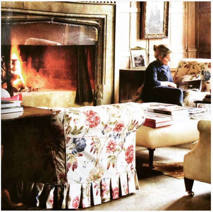 English Country English Cottage Updated English Country Chintz