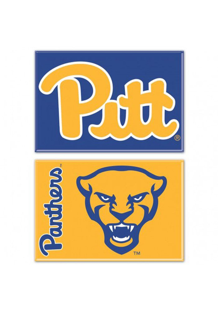 Pitt Panthers 2x3 2 Pack Magnet 5717477 In 2021 Pitt Panthers Panthers Pitt