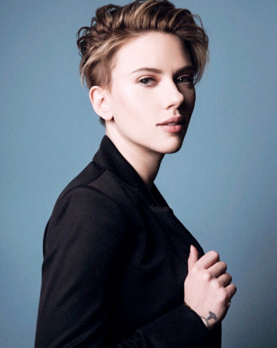 Scarlett Johansson Short Hair Tumblr Pixie Cut Pinterest