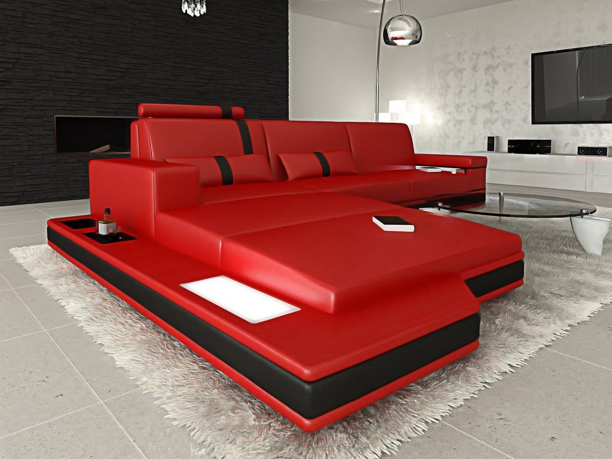 Design Sofa Kaufen Sofa Dreams Ecksofa Messana L Form Modernes Design Exklusive Sofas Online Kaufen | Otto | Leather Corner Sofa, Living Room Sofa Design, Sofa Home