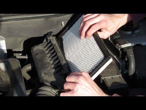 engine air filter replacement dodge caliber l4 2 0l. Black Bedroom Furniture Sets. Home Design Ideas